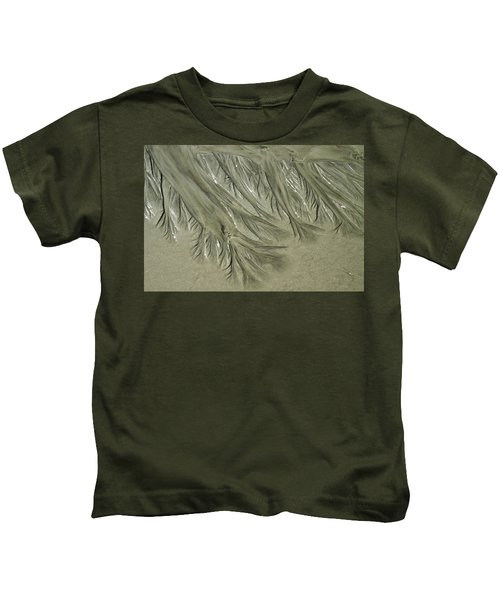 Low Tide Abstracts Iv Kids T-Shirt