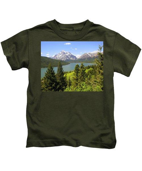 Lower Two Medicine Lake Kids T-Shirt
