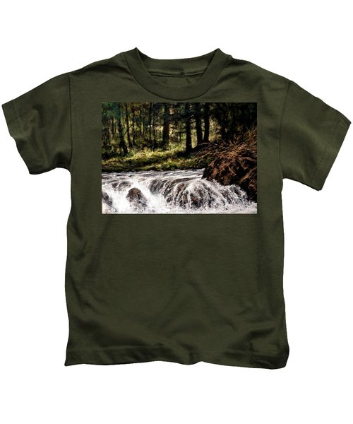 Lucia Falls In July Kids T-Shirt