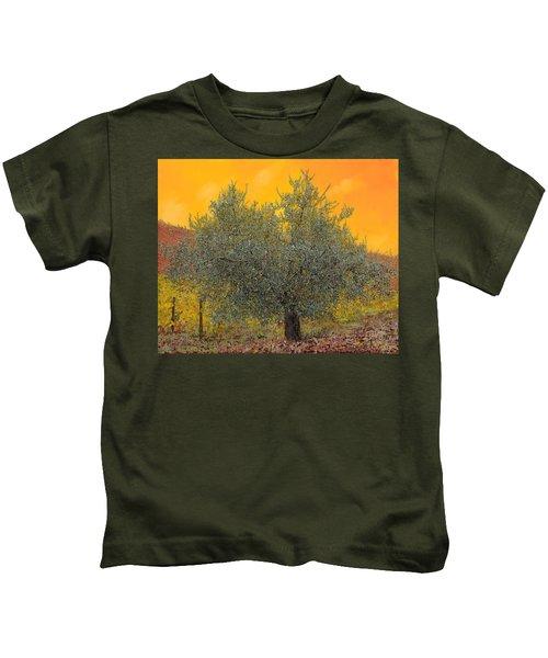L'ulivo Tra Le Vigne Kids T-Shirt