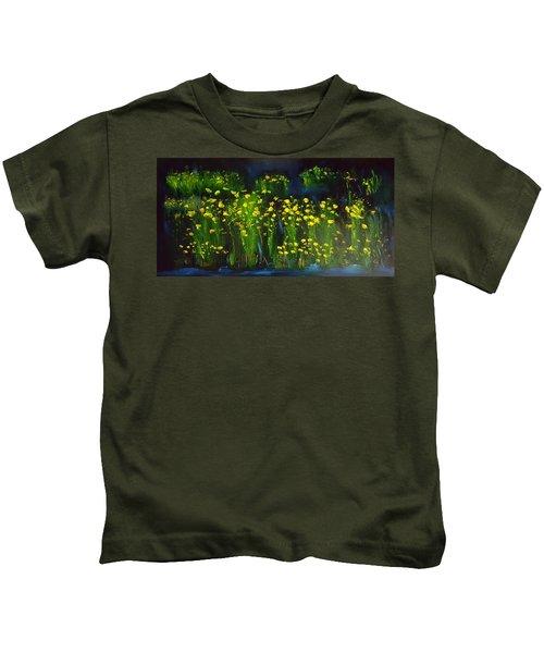 Lumonious Buds     17 Kids T-Shirt