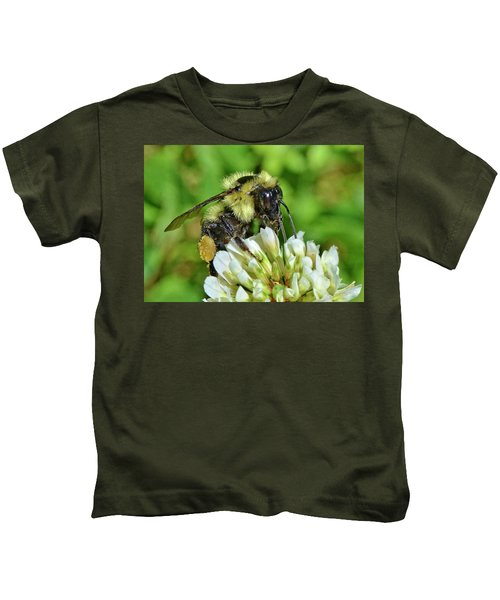 Lunch In The Garden Kids T-Shirt
