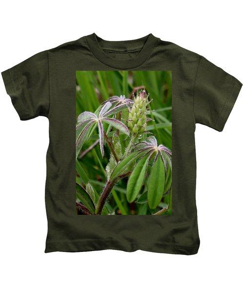 Lupine Bud Kids T-Shirt