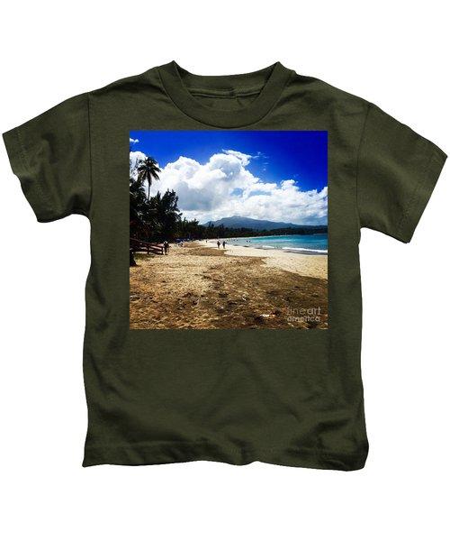Luquillo Beach, Puerto Rico Kids T-Shirt