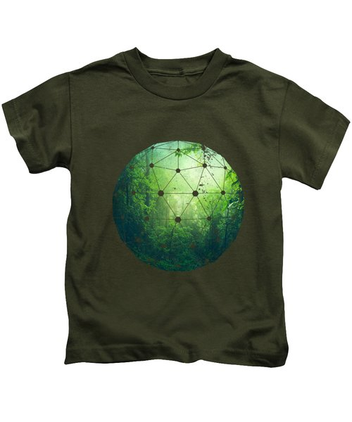 Lush Green Forest Kids T-Shirt
