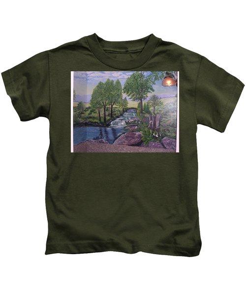 Luxury Bath Time Kids T-Shirt