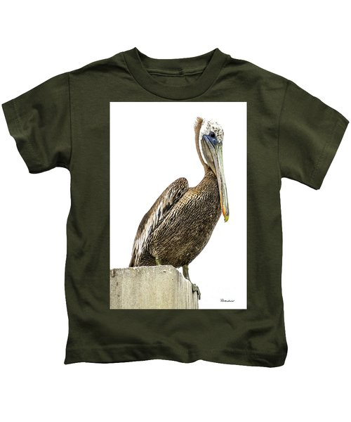 Majestic Gulf Shores Pelican 1071a Kids T-Shirt