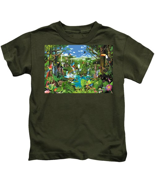 Magnificent Rainforest Kids T-Shirt