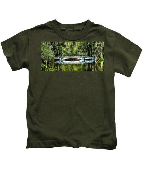 Magnolia Plantation Bridge - Charleston Sc Kids T-Shirt