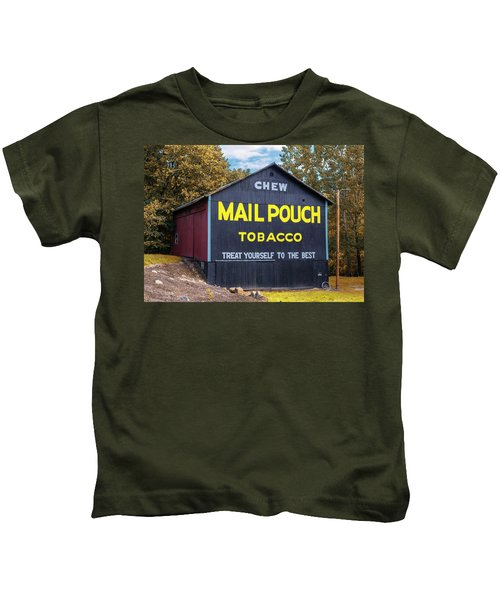 Mail Pouch Barn - Oh 83 Kids T-Shirt