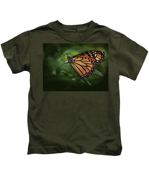 Majestic Monarch Kids T-Shirt