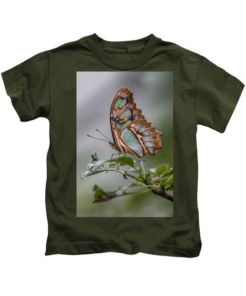 Malachite Butterfly Profile Kids T-Shirt