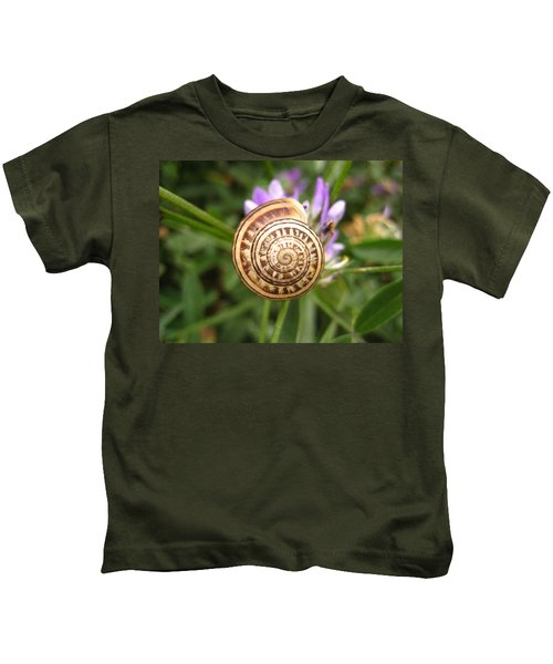 Malta Snail Kids T-Shirt