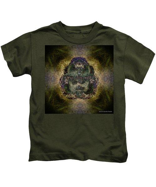 Mandala - Desert Deconstruction Series No. 5 Kids T-Shirt