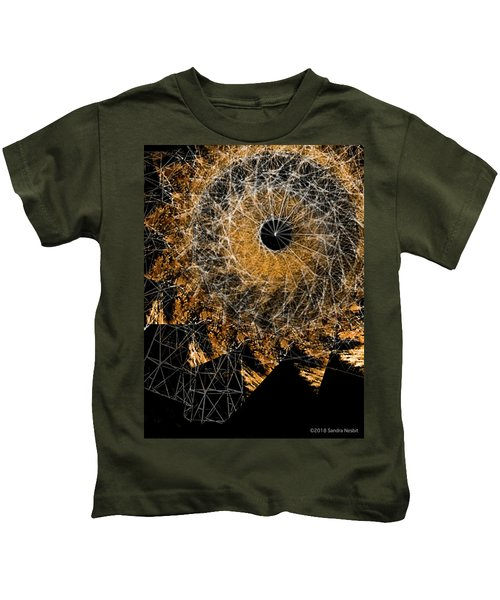 Mandala - Desert Deconstruction Series No. 8 Kids T-Shirt