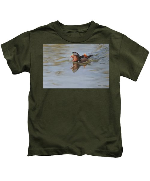 Mandarin Duck Kids T-Shirt
