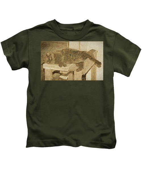 Mannie Is Relaxing Kids T-Shirt