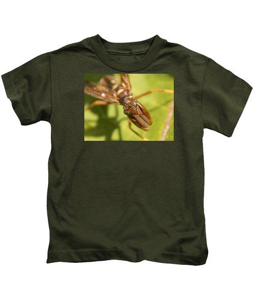 Mantid Fly Kids T-Shirt