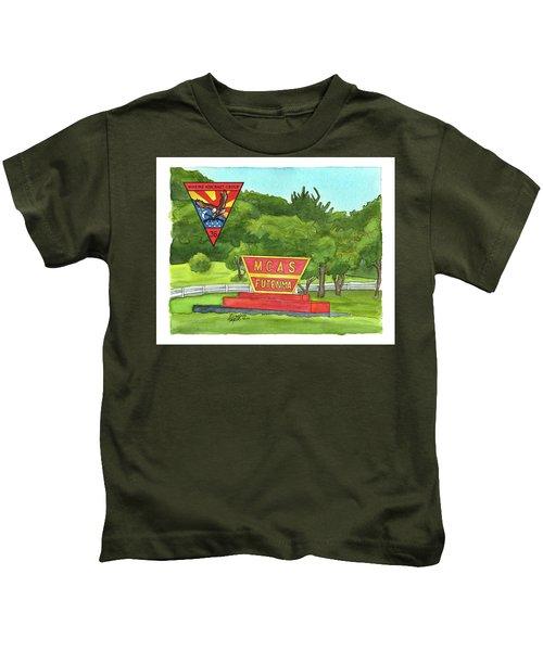 Marine Aircraft Group At Mcas Futenma Kids T-Shirt