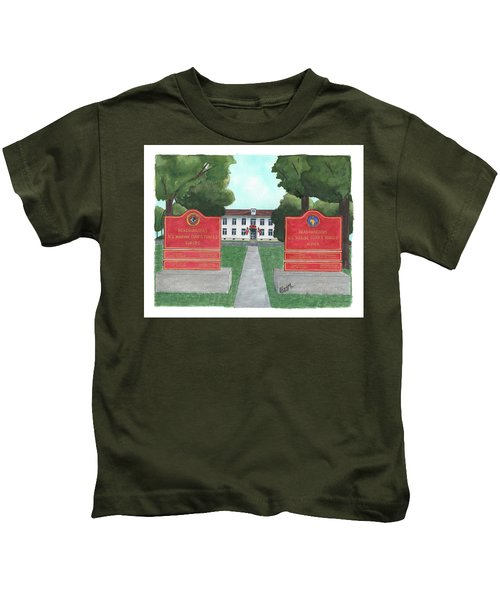 Marine Forces Europe And Marine Forces Africa Kids T-Shirt