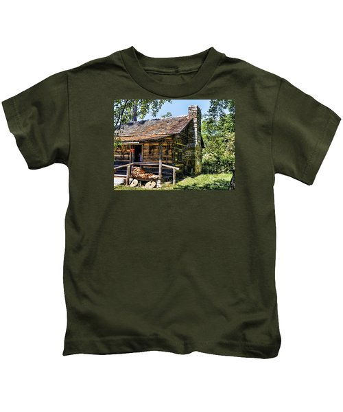 Mark Twains Family Cabin Kids T-Shirt