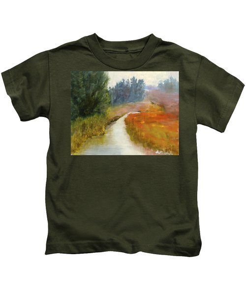 Marshes Of New England Kids T-Shirt