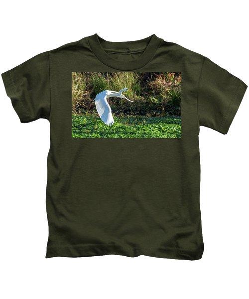 Marshy Flight  Kids T-Shirt