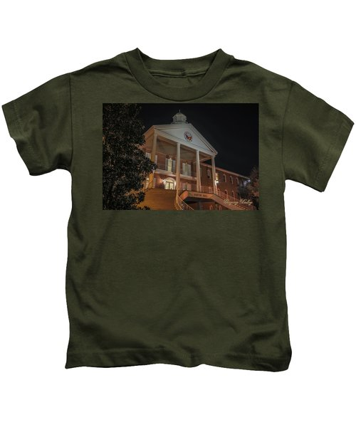 Martin Hall Night 01 Kids T-Shirt