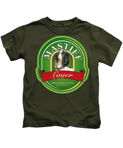 Mastiff Lager Kids T-Shirt