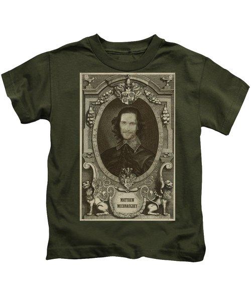 Matthew Mcconaughey   Kids T-Shirt