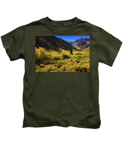 Mcgee Creek Alive With Color Kids T-Shirt