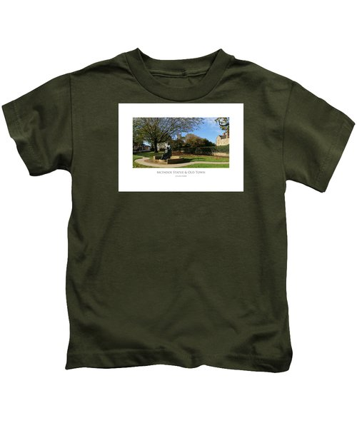 Mcindoe Statue Kids T-Shirt