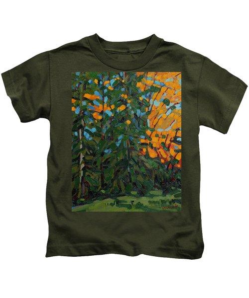 Mcmichael Forest Wall Kids T-Shirt
