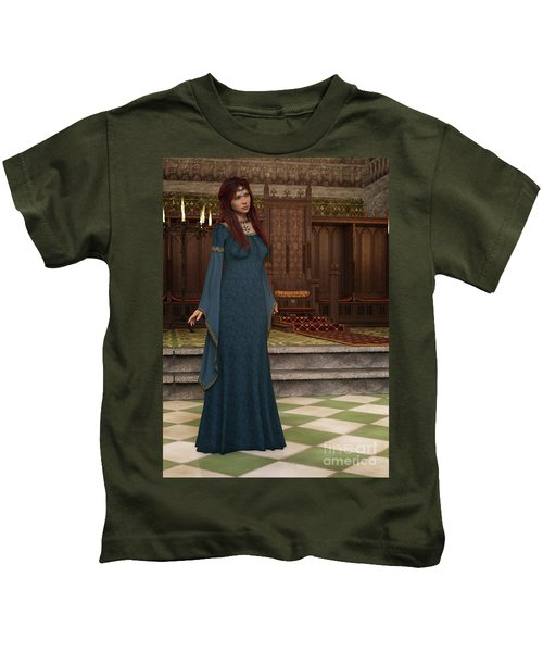 Medieval Queen Kids T-Shirt
