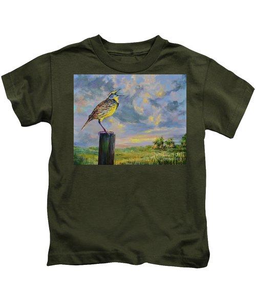Melancholy Song Kids T-Shirt