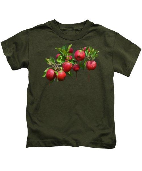 Melting Apples Kids T-Shirt
