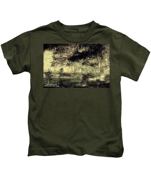 Memories Fade Away Kids T-Shirt