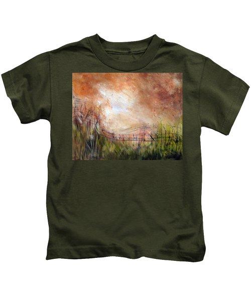 Mending Fences Kids T-Shirt