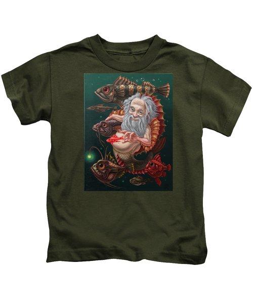 Merman Kids T-Shirt