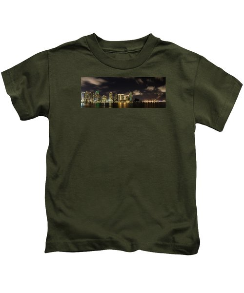 Miami Skyline Kids T-Shirt