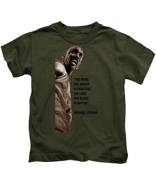 Michael Jordan - Practice Kids T-Shirt