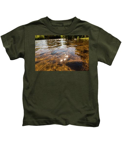 Middle Of The River Kids T-Shirt