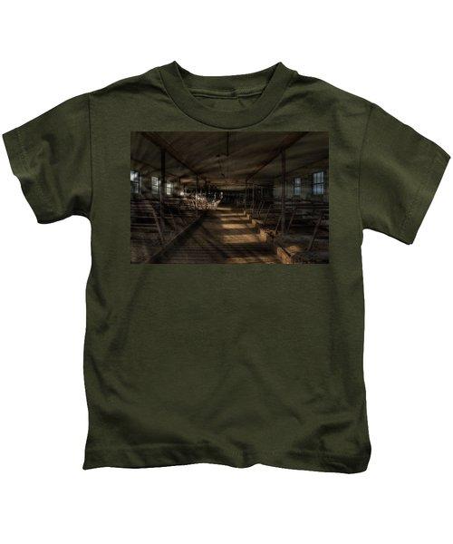 Milk Cows In Radiant Light Kids T-Shirt