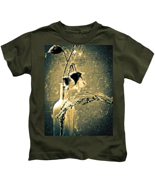 Milk Weed And Hay Kids T-Shirt