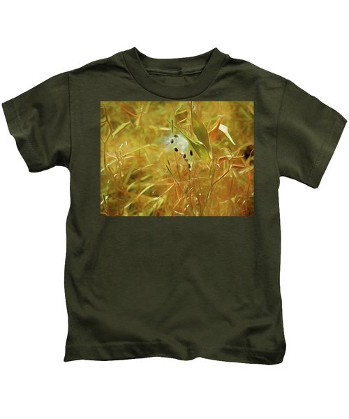 Milkweed In Sunlight 2 Kids T-Shirt