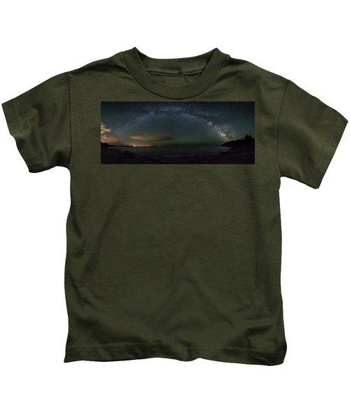 Milky Way Arch Kids T-Shirt