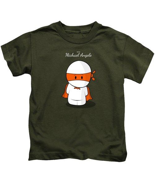 Mini Super Hero Kids T-Shirt by Islam Hassan