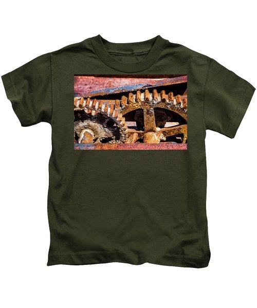 Mining Gears Kids T-Shirt