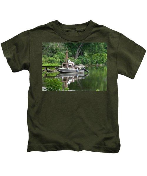 Mirrored Journey Kids T-Shirt