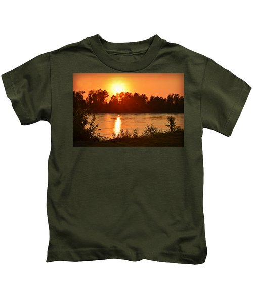 Missouri River In St. Joseph Kids T-Shirt